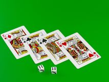The dice Stock Images