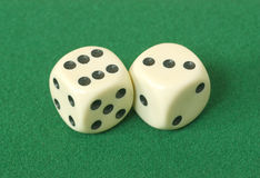 Dice. Stock Images