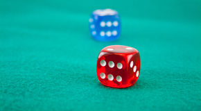 Dice 3 Royalty Free Stock Photos