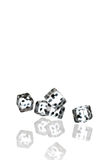 Dice. Isolated on white background Royalty Free Stock Photography