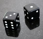 Dice. That have come up with a number four stock photo