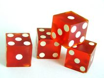 Dice. With shallow dof ,close up Royalty Free Stock Photography