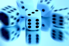 Dice abstract Stock Photos