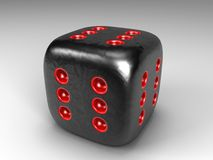 Dice all Six Stock Images