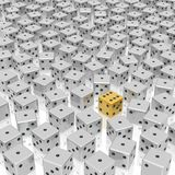 Dice background Royalty Free Stock Image
