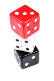 Dice balance Royalty Free Stock Photography