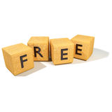 Dice and be free Royalty Free Stock Photography