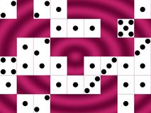 Dice Board Background Stock Photography