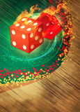 Dice and casino Royalty Free Stock Photo