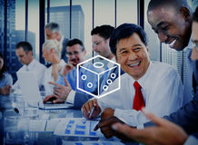 Dice Chance Risk Symbol Rolling Number Choice Bet Concept Royalty Free Stock Images