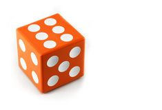 Dice close up Royalty Free Stock Photos