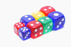 Dice Collection Stock Images