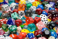 Dice Collection Stock Image