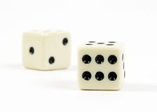 The dice Royalty Free Stock Photo