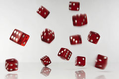 Dice fulling Stock Images