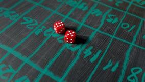 Dice for gambling Stock Photos