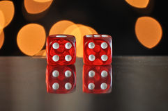 Dice for gambling. Number four. Dice for gambling. The Number four stock image