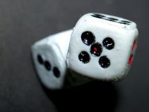 Dice game 02 stock photography