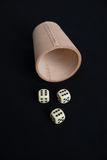 Dice Game Royalty Free Stock Photo