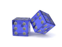 Dice game abstract Stock Photo