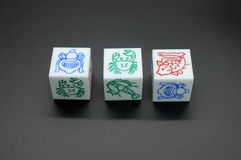 Dice Game Stock Photos