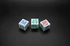 Dice Game Stock Photo