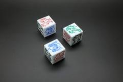 Dice Game Stock Photos