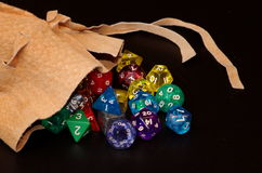 Dice gaming Stock Photography