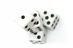 Dice highkey Stock Photo