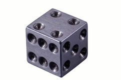 Dice isolated Stock Image