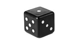 Dice Isolated On White Royalty Free Stock Image