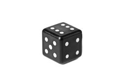 Dice isolated on white Stock Photography