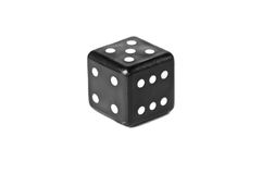 Dice isolated on white Stock Images