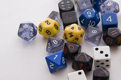 Dice Of All Form Royalty Free Stock Image