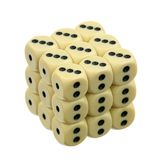 Dice over white Royalty Free Stock Image