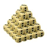 Dice over white Stock Photography