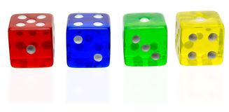 The dice Royalty Free Stock Photography