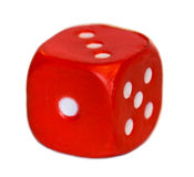 Dice red Royalty Free Stock Photo