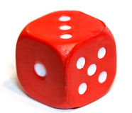 Dice red Stock Images