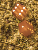 Dice roll Royalty Free Stock Image