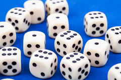 Dice rolling Stock Photos