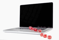 Dice Row Stock Images