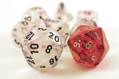 Dice for RPG Stock Images