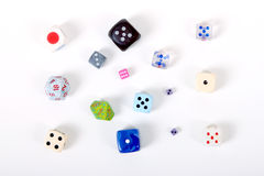 Dice set Stock Photography