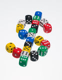 Dice in shape of a dollar symbol Royalty Free Stock Photos