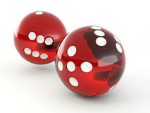 Dice. Shere Stock Image