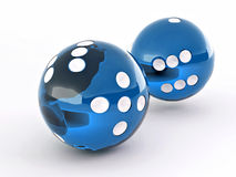 Dice. Shere Stock Images