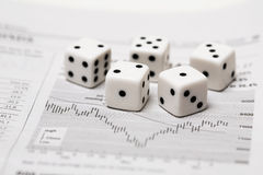 Dice Stock Stock Photo