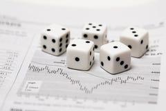 Dice Stock Stock Photo