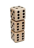 Dice Tower Stock Photo